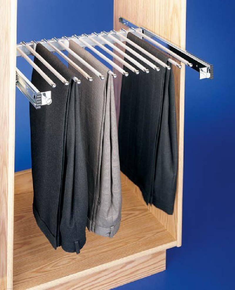 """24"""" Pull Out Pant Organizer"""