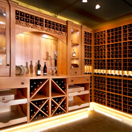 Deluxe Modular Wine Racks