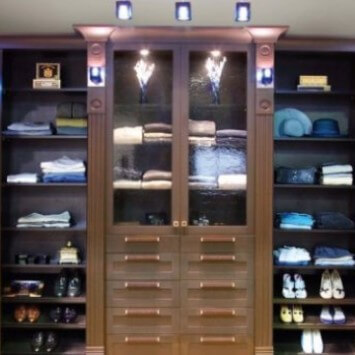 Walk In Closet Wardrobe Organizers