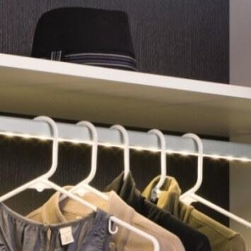 Loox LED Closet Organizer Wardrobe Tube Kit
