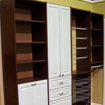 Closets to go reach in Craft Closet Organizer