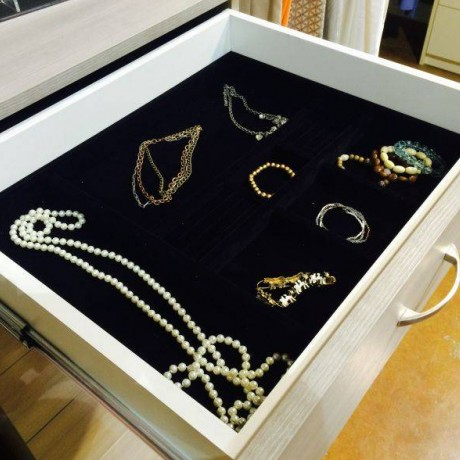 Closet Drawer Insert Jewelry Tray