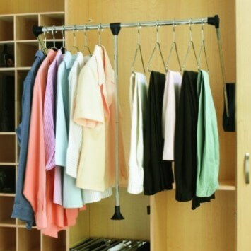 Pull Down Closet Organizer Wardrobe Tube