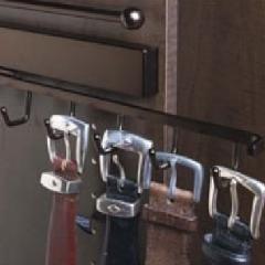 Closet Organizers Belt Racks