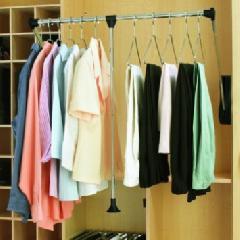 Pull Down Closet Organizers Wardrobe Tubes