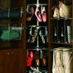 Closet Organizers Spinning Shoe Racks