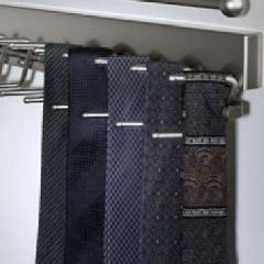 Closet Organizers Tie Racks